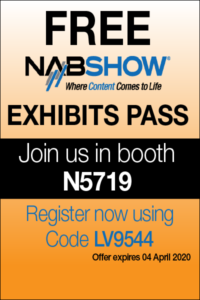 Free Pass to NAB 2020