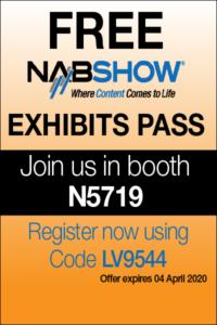 Free Pass to NAB 2020